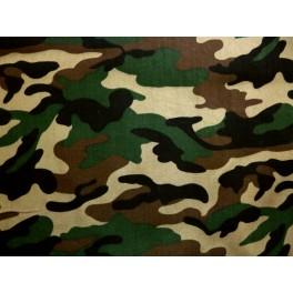tissu camouflage vert sapin marron noir et beige a0011. Black Bedroom Furniture Sets. Home Design Ideas