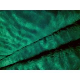 Tissu Fausse Fourrure Synth 201 Tique Poils Courts Vert A0027