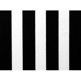tissu polyester imprime rayures noir et blanc a0023. Black Bedroom Furniture Sets. Home Design Ideas