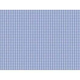 TISSU VICHY PETIT CARREAUX BLEU CIEL A0004