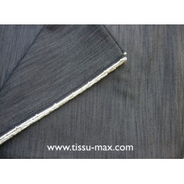 TISSU JEAN UNI GRIS A0012