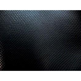 tissu simili cuir rigide motif serpent noir a0016. Black Bedroom Furniture Sets. Home Design Ideas