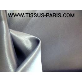 TISSU DOUBLURE SATIN GRIS CLAIR A0009