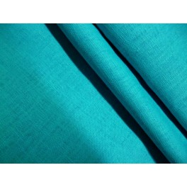 TISSU LIN TURQUOISE A0002