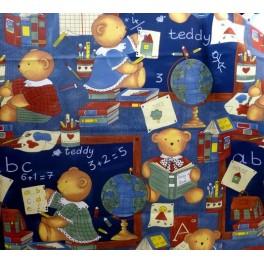 TISSU COTON ENFANTS TEDDY A0011
